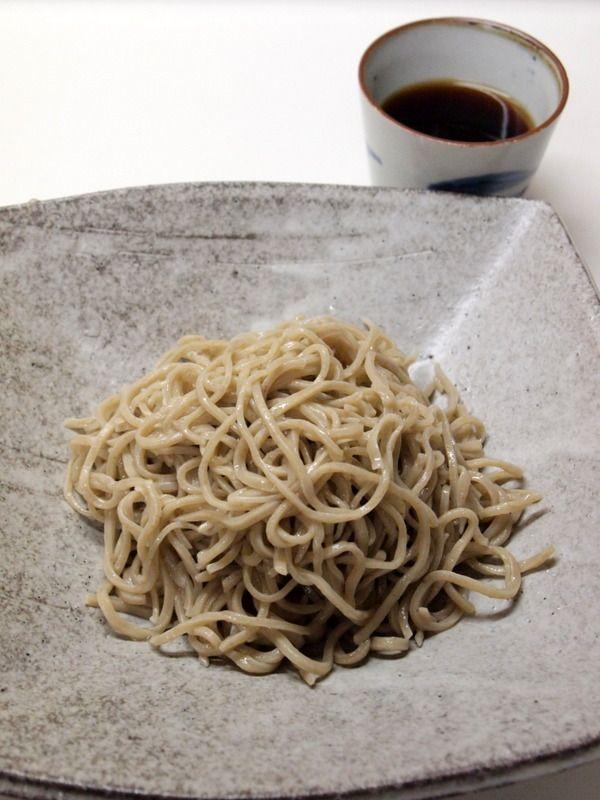 Japanese Soba, buckwheat noodles そば