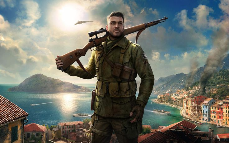 Sniper Elite Wallpaper 4K Game - http://wallpaperzone.co/2016/08/03/sniper-elite-wallpaper-4k-game/
