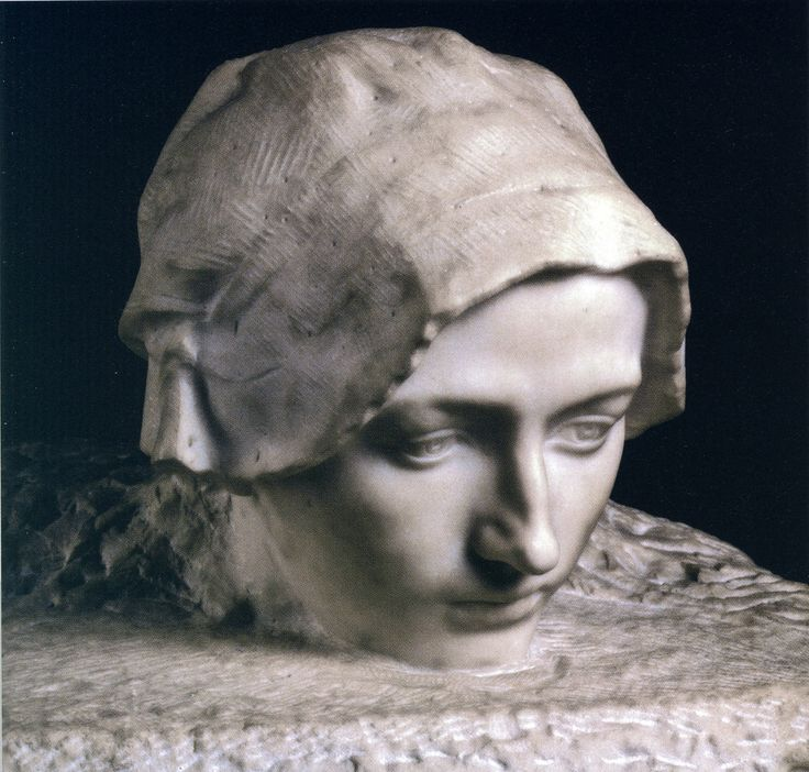 Auguste Rodin La Pensée, portrait of Camille Claudel, marble, Paris Musée d'Orsay @Jean Schormans