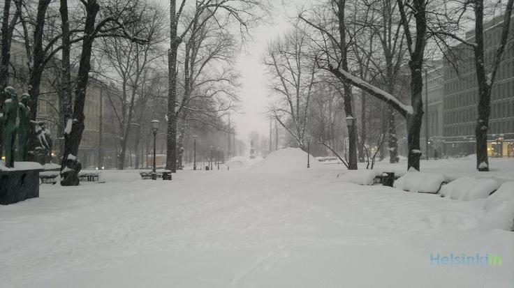 Esplanadi in February 2012
