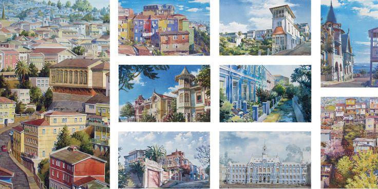 VALPARAISO Casas y palacios