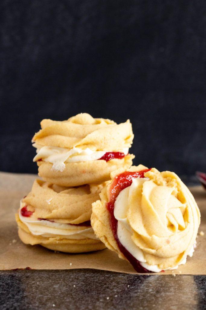 Vegan Buttery Viennese Whirls Recipe   Cookies - Butter   Viennese