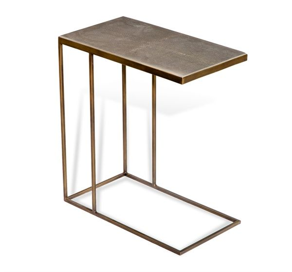 Fresh Johannes Hugging Table in Shagreen design by Interlude Home Trending - Minimalist C Tables for sofas Awesome