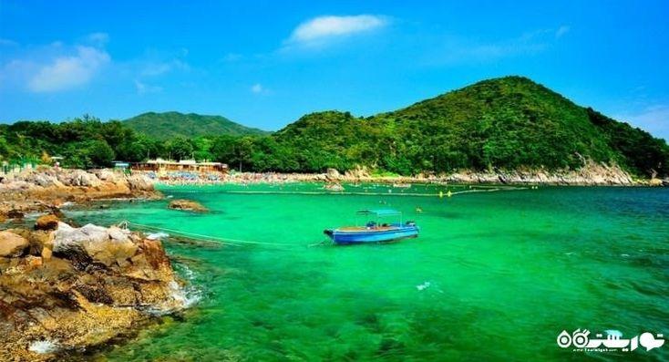 ساحل تفریحی دیدنی در هنگ کنگ