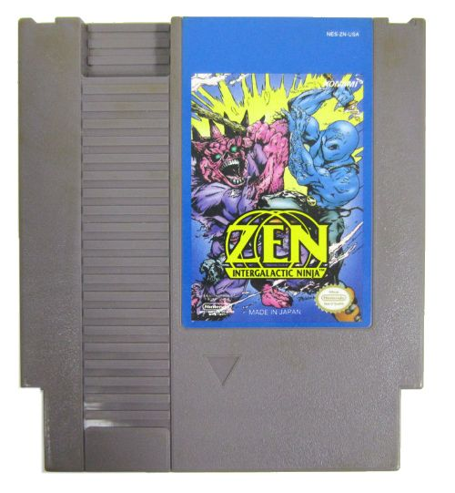 Today in gaming history  March 7,  1993 Zen: Intergalactic Ninja was introduced to the Nintendo NES.  Zen: Intergalactic Ninja, based on a comic book of the same name, is a story about a militant environmentalist ninja named Zen. He has been assigned by a group a green, pointy-headed aliens to come to earth and stop environmental pollution by any means necessary. Eventually, he will have to find the big polluter, Lord Contaminous. The gameplay consists of side scrolling and isometric 3D…