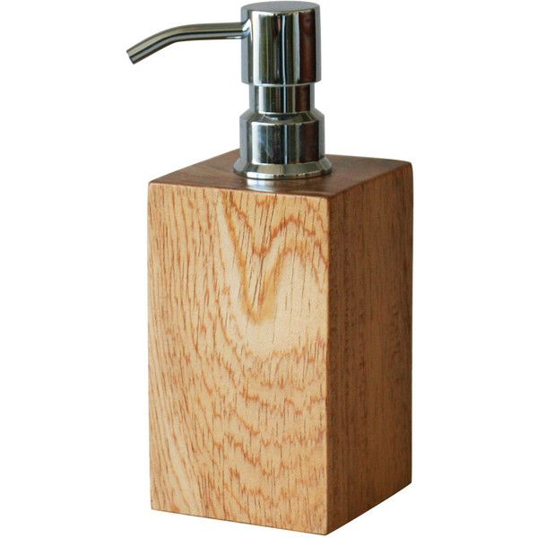 selamat designs soaplotion dispenser natural gwldna 38 liked on polyvore featuring home bed u0026 bath bath bath accessories bathroom