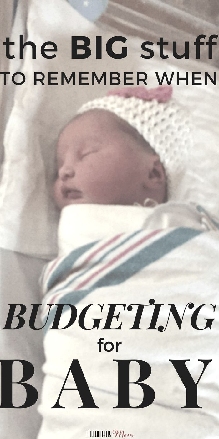 the BIG stuff to consider when budgeting for baby. The best swings and strollers are cool, but there is more to life than the bells and whistles of parenting. Babies require their own space in the family, and these are the major expenses to  consider when you're expecting your bundle. New mom tips | financial preparedness | finance tips | family finance | budgeting tips for new parents | costs of a baby | how to prepare for a baby | saving money | frugal living