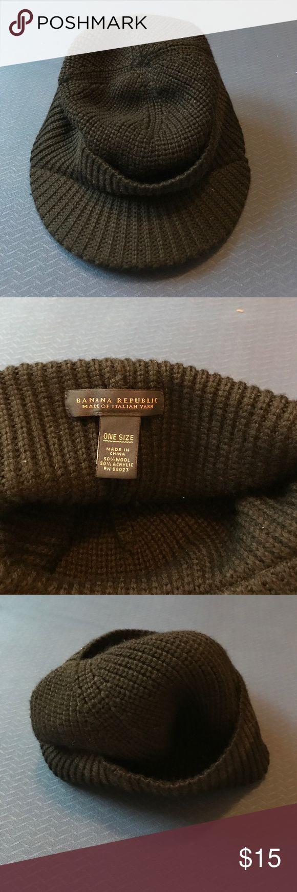Men's Wool hat EUC Men's wool hat. 50% wool 50% acrylic Banana Republic Accessories Hats
