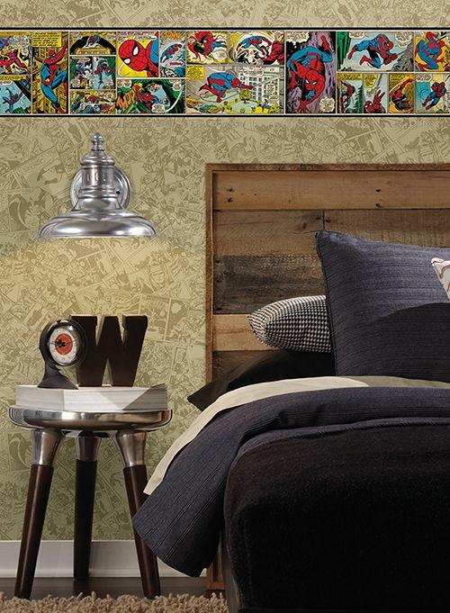 Homem Aranha - Papel de parede - www.perfildecor.com.br