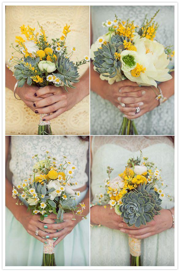 Букеты для подружек невесты