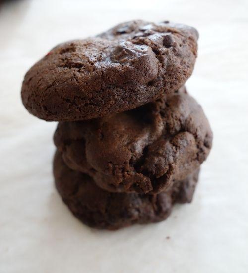 Hot Chocolate Chunk Cookies