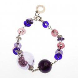 Antica Murrina Shine #Bracelet - Amethyst #jewellery #murano