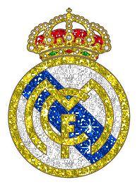 Escudo en psicodélico. Real Madrid