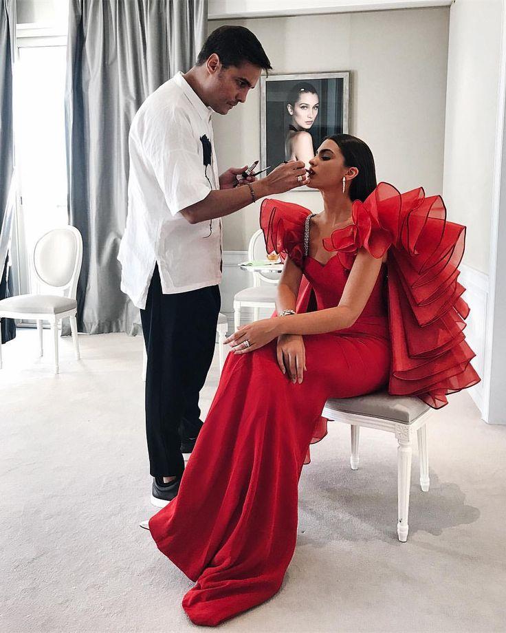 """18.6 mil Me gusta, 112 comentarios - Marta Lozano Pascual (@martalozanop) en Instagram: """"When in Cannes @alexismabille haute couture babe ❤ #SuiteDior @bulgariofficial"""""""