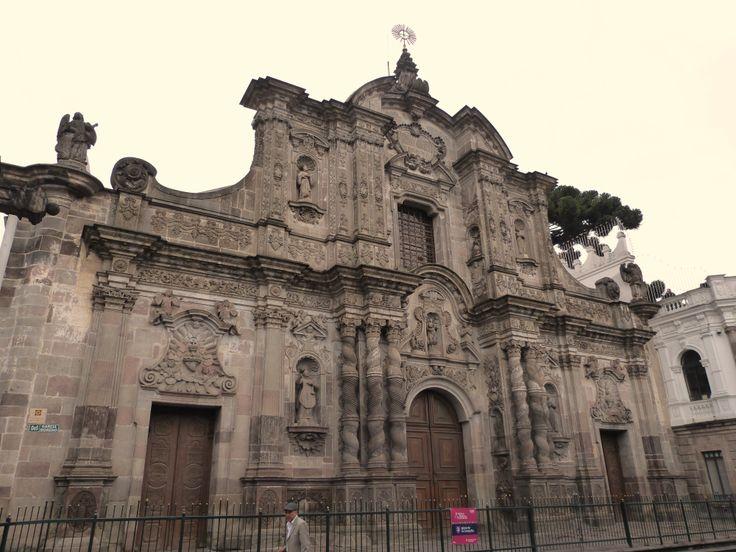 Church of the Society of Jesus, #Quito #Ecuador