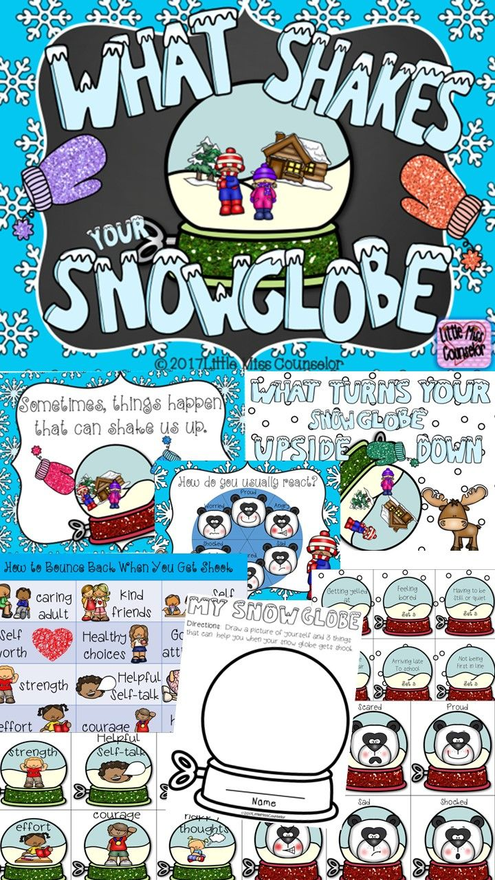 Shake it up with this fun lesson that uses a snow globe analogy to explain how kids can deal with problems using resiliency.