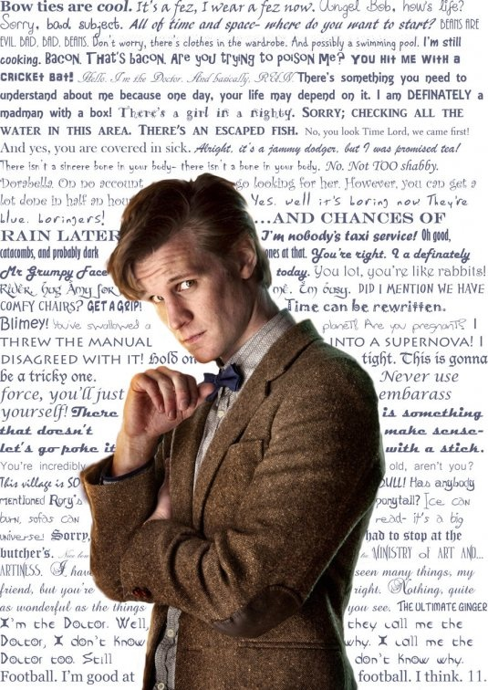 Doctor who 11th doctor quotes