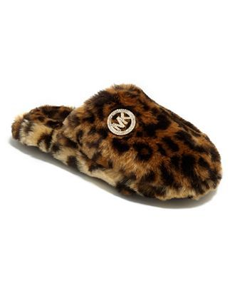 Fur: Michael Kors slipper, $30 at Macy's