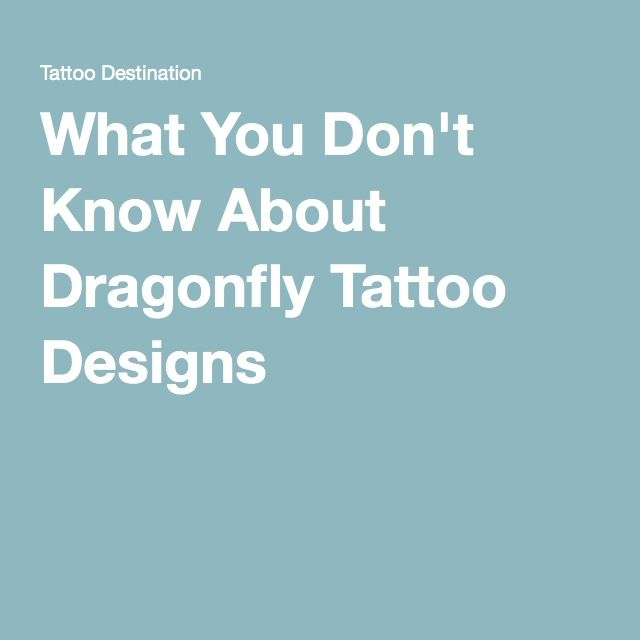 1000+ Ideas About Dragonfly Tattoo On Pinterest