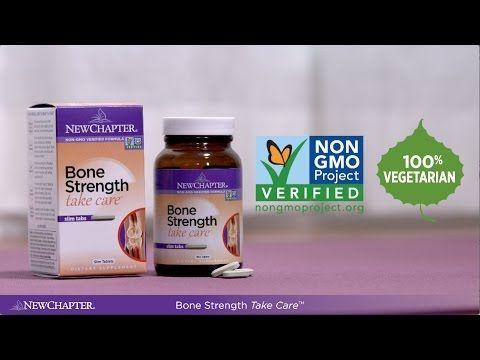 New Chapter® Bone Strength Take Care with Joy McCarthy
