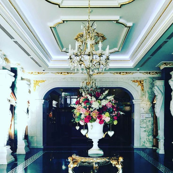 Another beautiful shot of one of our chandeliers in Spa Aphrodite taken by @patrish.j