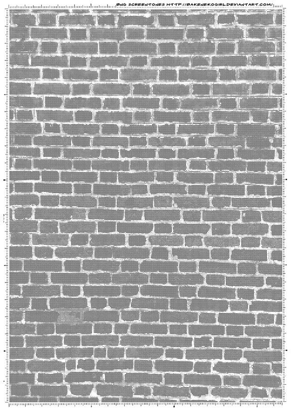 Wall screentone