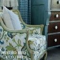 Gorgeous Upholstered Chair by Miss Mustard Seed Herself! - PA - Harrisburg - USA - already done... - Show Ad - Miss Mustard Seed