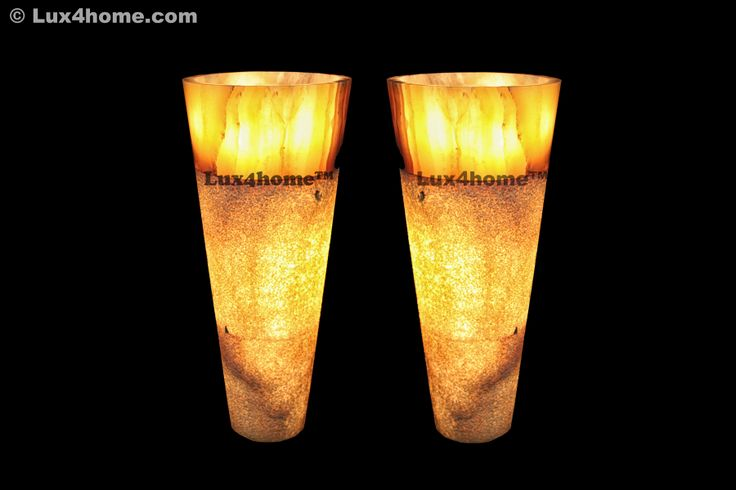Stojące umywalki z onyksu. Wolnostojące ummywalki kaminne, które zostały podświetlone... Tylko w Lux4home™