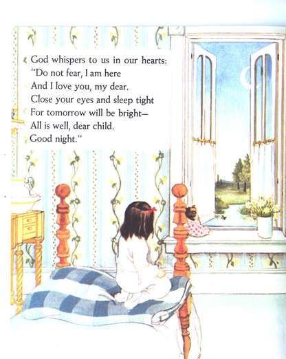 My Little Golden Book About God by Jane Werner Watson Illustrated by Eloise Wilkin