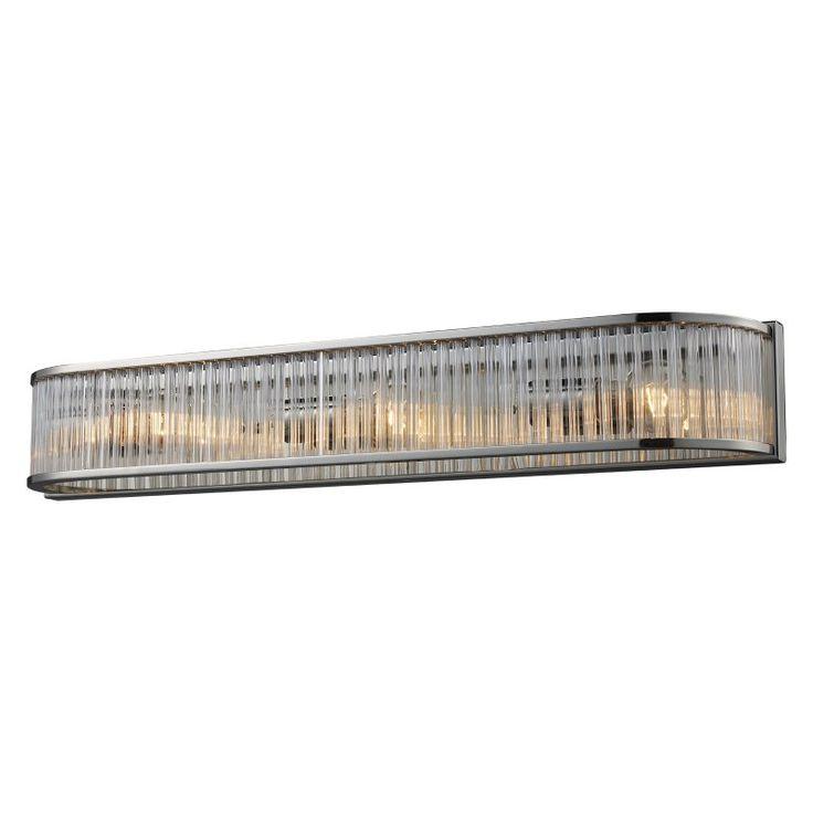 Elk Lighting Braxton Vanity Light Bar - Polished Nickel - 1012