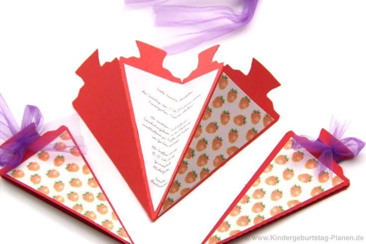 Einladung Zur Schulung Schultute Erdbeere Einladung Erdbeere Schultute Schulung School Celebration Cards Kindergarten Activities