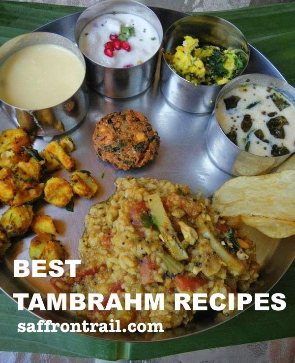 Tambrahm cooking - easy, wholesome, delicious - my family recipes on Saffrontrail.Com