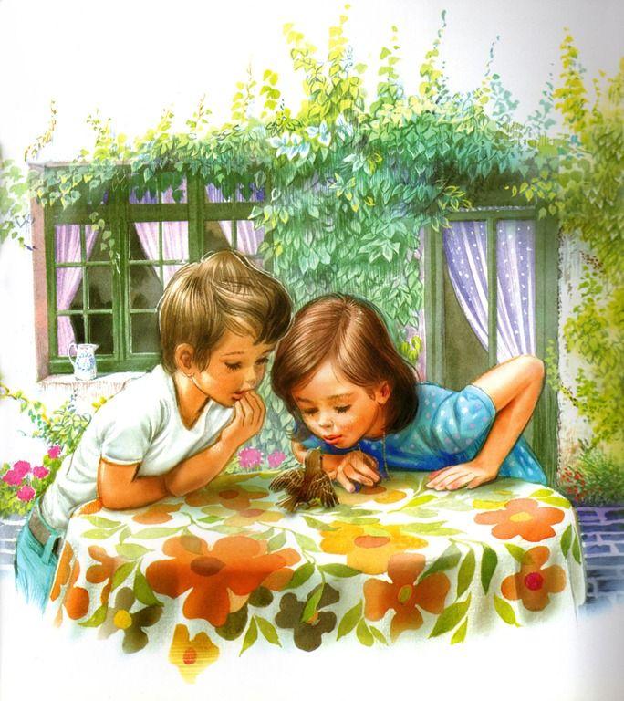 картинки с добрыми детьми