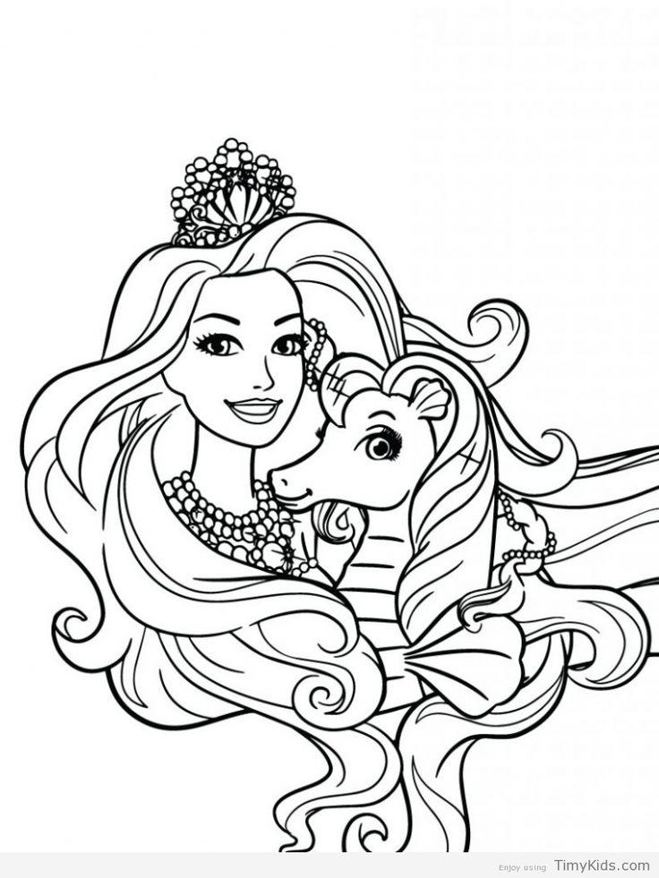 Disegni da colorare gratis barbie sirena for Disegni barbie da colorare gratis