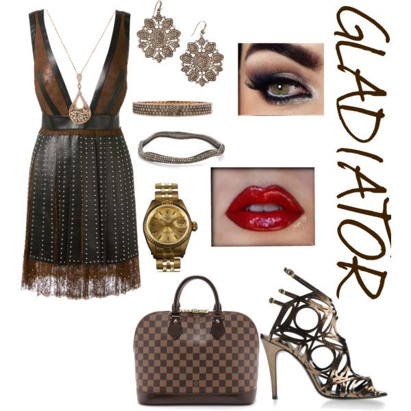 Untitled #115 by asheschavon on Polyvore featuring moda, Givenchy, Pierre Hardy, Louis Vuitton, Rolex and Bavna