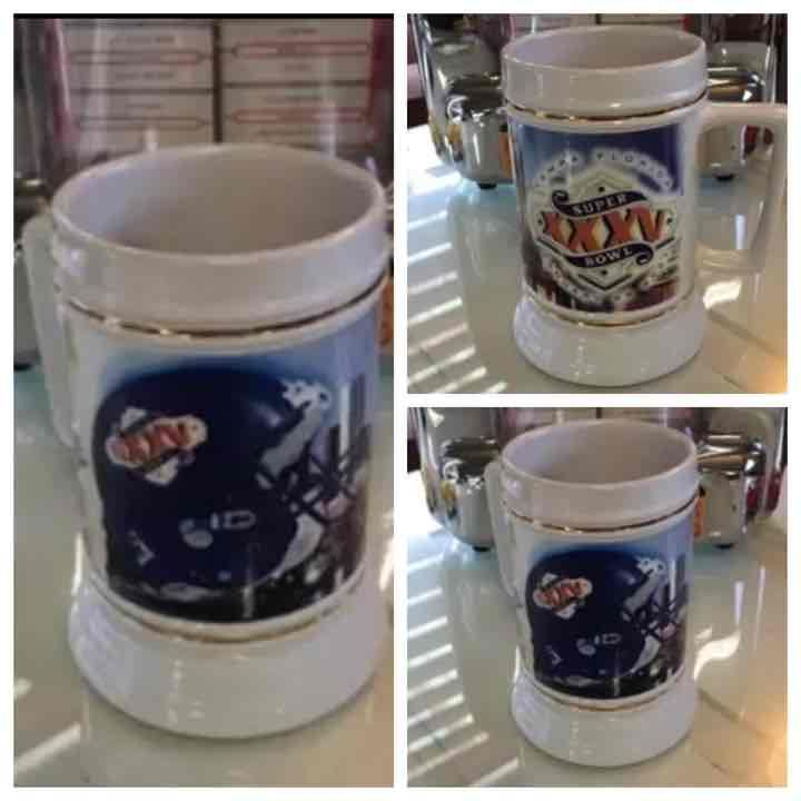 Super Bowl XXXV Tampa, Florida Beer Mug - Mercari: Anyone can buy & sell