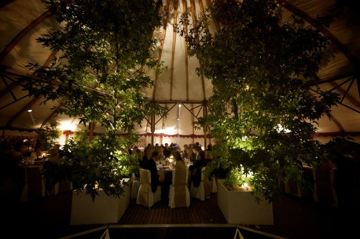 Grand Pavilion hire, circular wooden framed tent hire for weddings and corporate events in UK, Ireland and Europe : LPM Bohemia