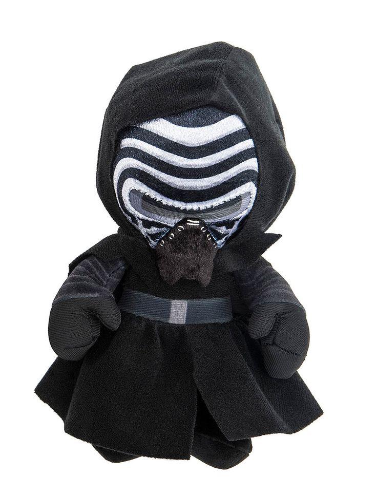 Peluche Kylo Ren 17 cm. Star Wars Episodio VII. Joy Toy Estupendo peluche del personaje de Kylo Ren de 17 cm de altura y fabricado en materiales de alta calidad, 100% en poliéster y que es por supuesto 100% oficial y licenciado. Es un artículo que encantará a los fans de la entrega de Star Wars Episodio VII.