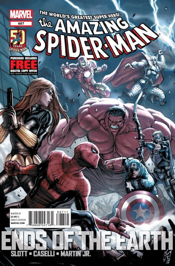 Comics: Spider Man 687, Avengers, Marvel Comics, Spiderman, Comic Book, Super Heroes, Comic Art, Superhero