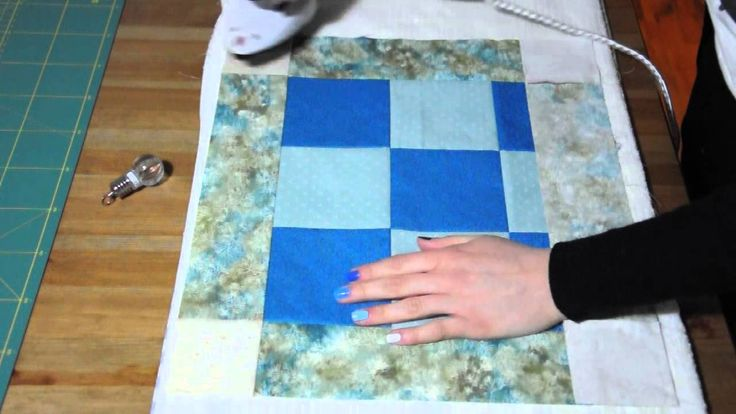 Tutorial cuscino patchwork (pt 1) by IdeAli
