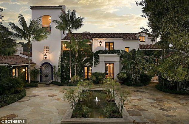 Eric Schmidt, the executive chairman of Google, has a sprawling Spanish Colonial mansion on four acres of Montecito, California, real estate.Mr Schmidt bought the home from talk show host Ellen DeGeneres and has been known to rent out the 5,000sqft property for special events, such as Kim Kardashian and Kris Humphries' doomed nuptials.The 20 million dollar home is just one of Mr Schmidt's numerous properties as his portfolio includes residences in Nantucket and Atherton.Architecture House, Degenerative House, Ellen House, Spanish Style, Spanish Colonial, Architecture Design, Ellen Degeneres, Generes House, Ellen Degenerative