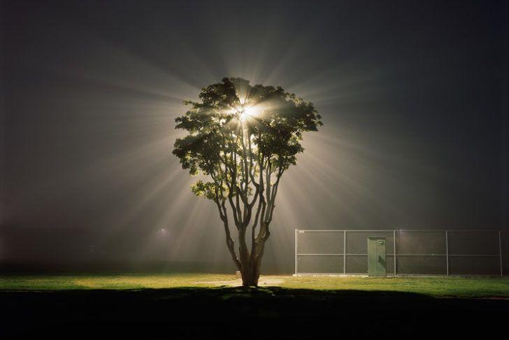 Sombres, parfois sinistres et angoissantes, les photos de la série Night Landscapes par Amanda Friedman sont non retouchées et ont toutes été prises de nuit.