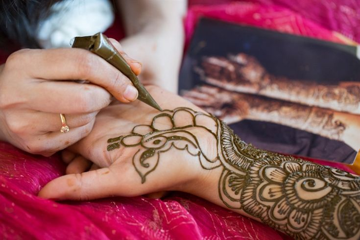 21 favorite bridal henna styles - featuring different Indian and Arabic motifs.