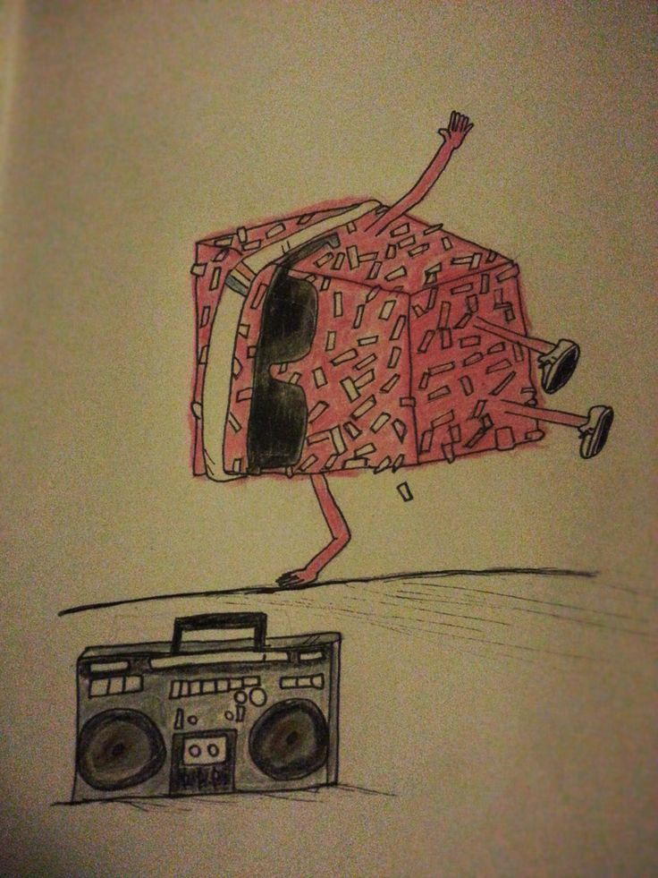 Hip-Hop Lamington by Emily Christensen