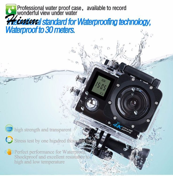 10pcs/lot Action camera WiFi 1080P Full HD 2.0 LCD HD 30m Waterproof DV video Sport extreme go pro cam sensor For SONY IMX197 #Affiliate