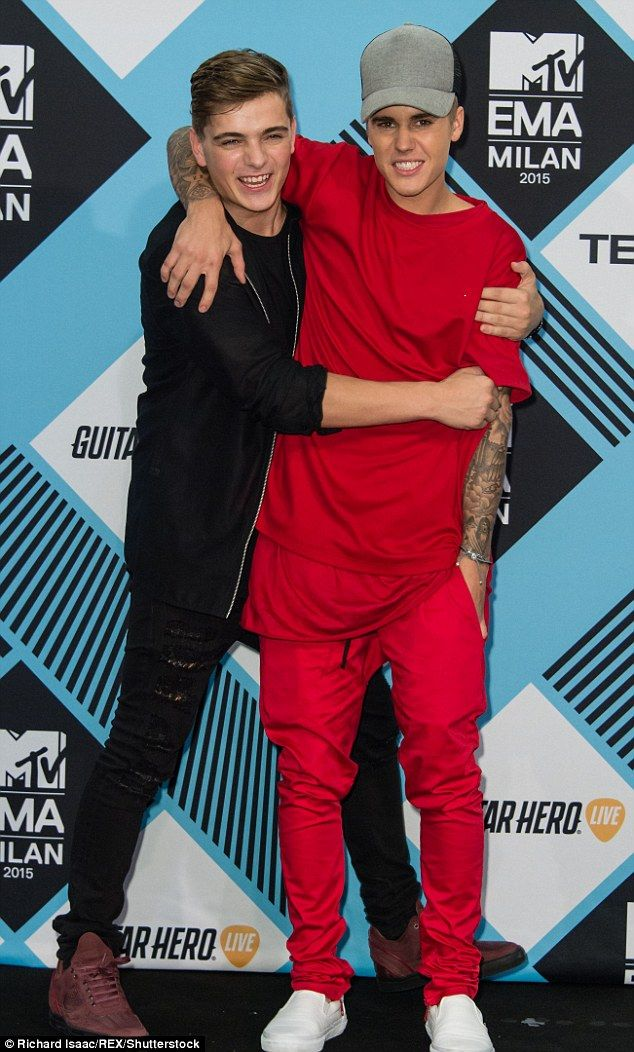 Coming to Justin's defence: Justin Bieber, 23, truly adores his fans, according to his good friend DJ Martin Garrix, who told The Daily Telegraph on Thursday that constantly being bombarded with selfie requests can get overwhelming