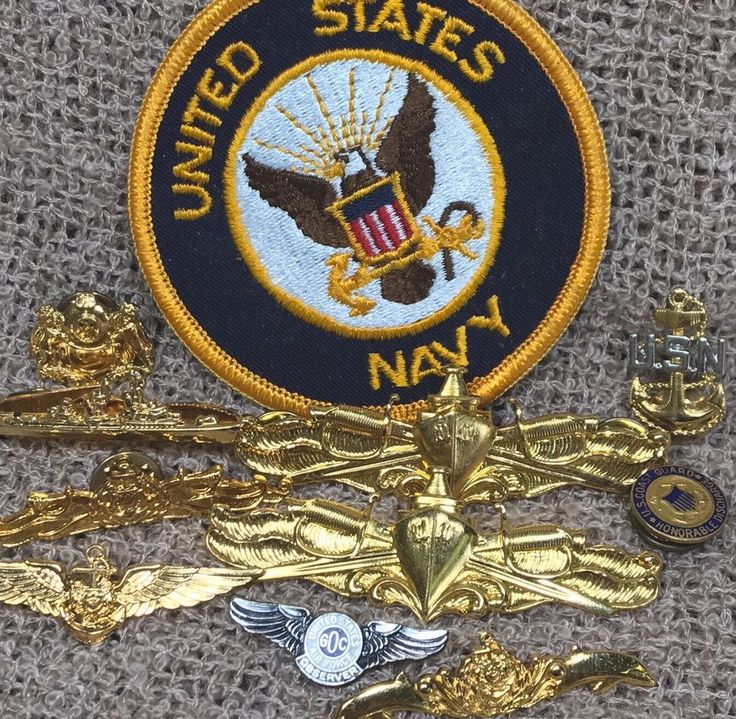 US Navy, Air Force, & Singapore Navy Insignia Collection (11) Badges/Pins Lapels  | eBay