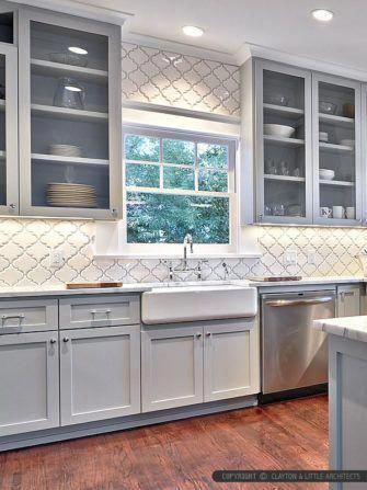 Straightforward kitchen cabinet wood