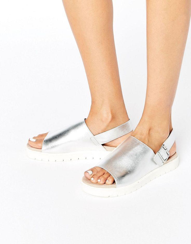Image 1 ofMonki Metallic Sandal