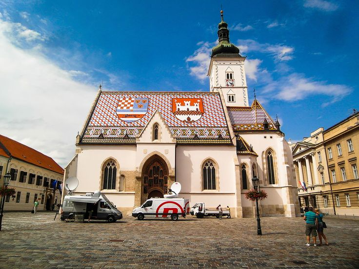 St. Mark's Church in Zagreb (Sv. Marka)